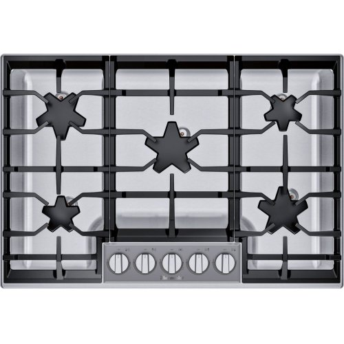 30-Inch Masterpiece® Pedestal Star® Burner Gas Cooktop, ExtraLow® Select **OPEN BOX** West Des Moines Location