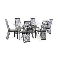 Carmine Trans. Rect. Dining Product Image