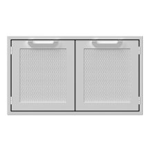 "36""DBL.SEALED Pantry Storage Doors, Marquise"