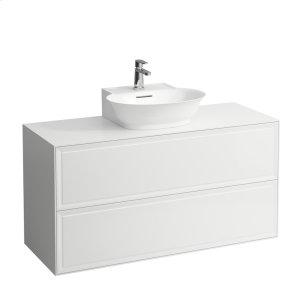 Traffic Grey Drawer element 1200, 2 drawers, matches small washbasin 816852 Product Image