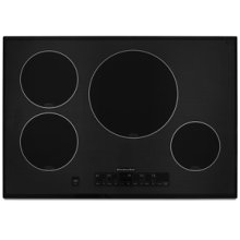 """Induction Cooktop 30"""" Width 4 Elements Induction Technology Architect® Series II"""