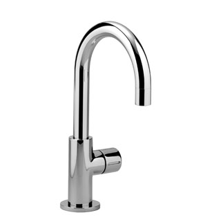 Pillar tap cold water only - chrome