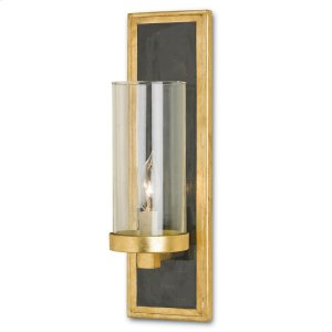 Charade Gold Wall Sconce