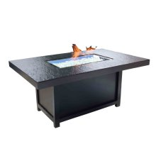"""Outdoor Fire Pit : Natural Gas Venice 50"""" x 32"""""""