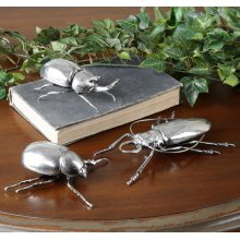 Beetle Figurines, S/3