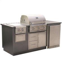 R Series EZ Outdoor Kitchen - Silver