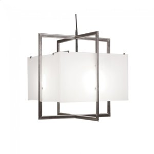 Cube Chandelier - Flat Box - C400FB Silicon Bronze Brushed Product Image