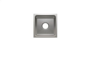 """Classic 003212 - undermount stainless steel Bar sink , 12"""" × 12"""" × 7"""" Product Image"""