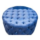 Round Tufted Table Ottoman Product Image