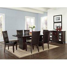 """Briana Side Chair, Brown PU 21""""x25""""x41"""""""