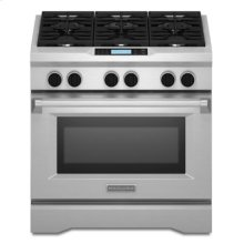 Commercial-Style Dual Fuel Range - Stainless Steel