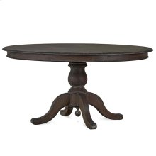 Farmhouse 5' Round Pedestal Table - BRS