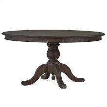 Farmhouse 5' Round Pedestal Table - BRS