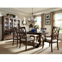 Trisha Yearwood Dining Room Set: Table with 2 Arm Chairs and 4 Side Chairs