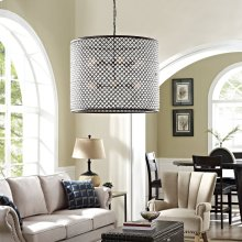 Prosperity Chandelier in Brown