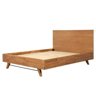 Dartford KD Queen Bed Set, Acorn Brown