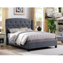 Eva King Headboard/footboard -grey