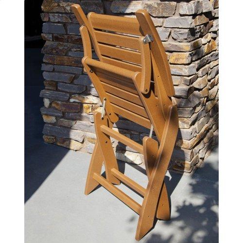 Black Signature Folding Chair