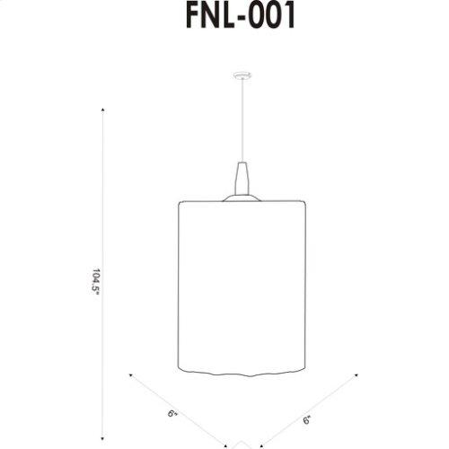 """Fenelon FNL-001 8""""H x 6""""W x 6""""D"""