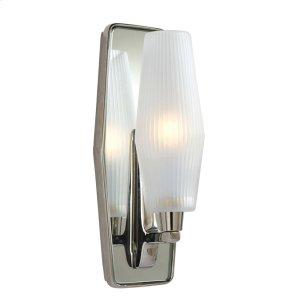 Visual Comfort BBL2034PN-FG Barbara Barry Lighten Up 1 Light 5 inch Polished Nickel Bath Wall Light