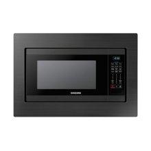 1.9 cu. ft. Countertop Microwave for Built-In Application in Fingerprint Resistant Black Stainless Steel