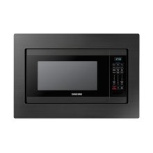 1.9 cu. ft. Countertop Microwave for Built-In Application in Fingerprint Resistant Black Stainless Steel