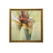 Contemporary Print Textured and Framed