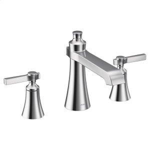 Flara chrome two-handle roman tub faucet Product Image