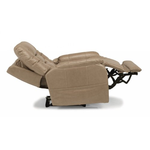 Theo Leather Power Recliner with Power Headrest