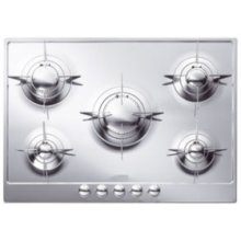 """72CM (approx 28 ) """"Piano Design"""" Gas Cooktop, Polished Stainless Steel*"""