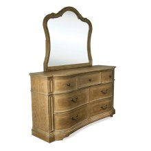 Verona Seven Drawer Dresser Light Sienna finish