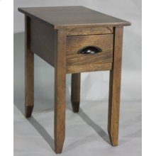 "#584 Canyon End Table 15""wx24""dx25""h"