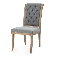 Romney Wood & Linen Dining Chair