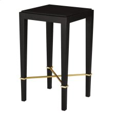 Verona Black Drinks Table