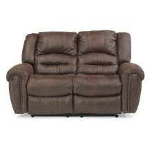 Downtown Fabric Power Reclining Loveseat