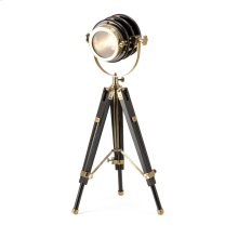 TY Tribute Black and Gold Spotlight Lamp