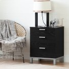 Nightstand Charging Station - Black Oak Product Image