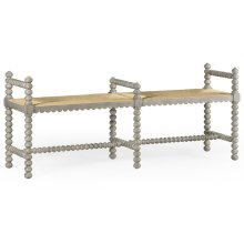 Bellingham Country Grey Double Bench