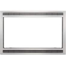 Frigidaire Black/Stainless 27'' Microwave Trim Kit