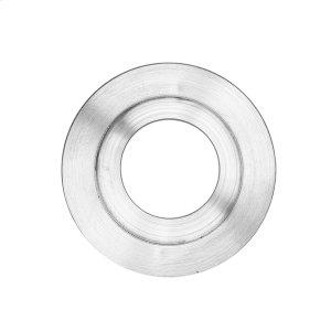 Round flush pull 65 with round cylinder hole, Antique Brass Dark Product Image