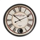 Baxton Studio Didier Vintage Style Matte Black Finished Wall Clock Product Image