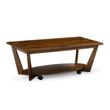 Aero Coffee Table with Casters