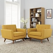 Engage Armchair Wood Set of 2 in Citrus
