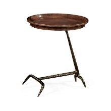 Unusual Circular Side Table