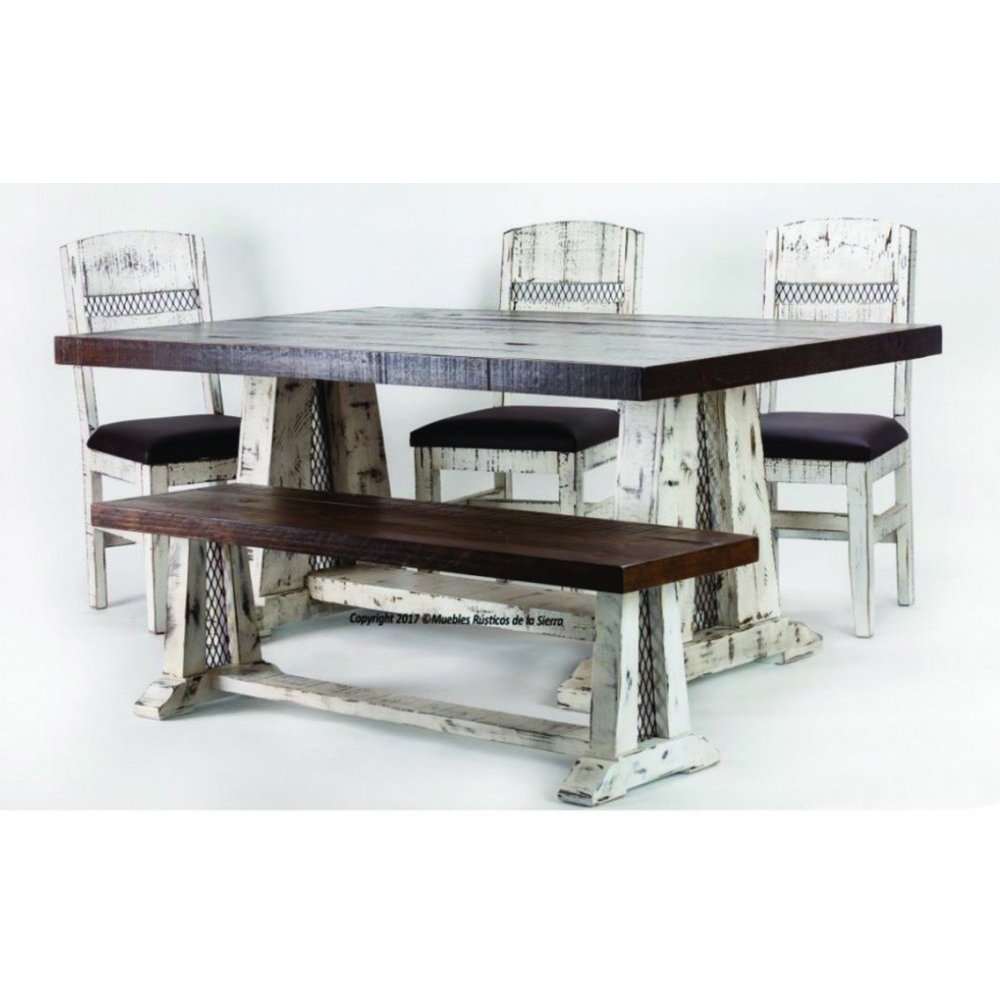 Casa Blanca 6 FT Dining Table