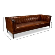 The Adams Sofa, Vintage Cigar