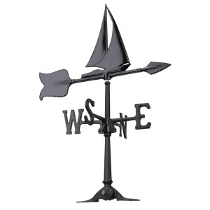 "24"" Sailboat Accent Weathervane Product Image"