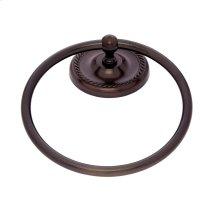 Old World Bronze Prestige Towel Ring