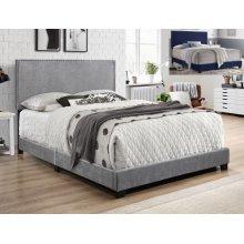 Erin Velvet Nailhead Bed