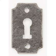 Wrought Iron Keyhole Escutcheon